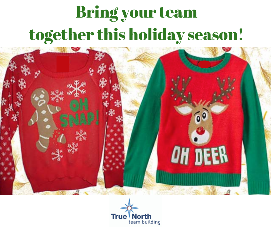ugly sweater - bring your team together this holiday season