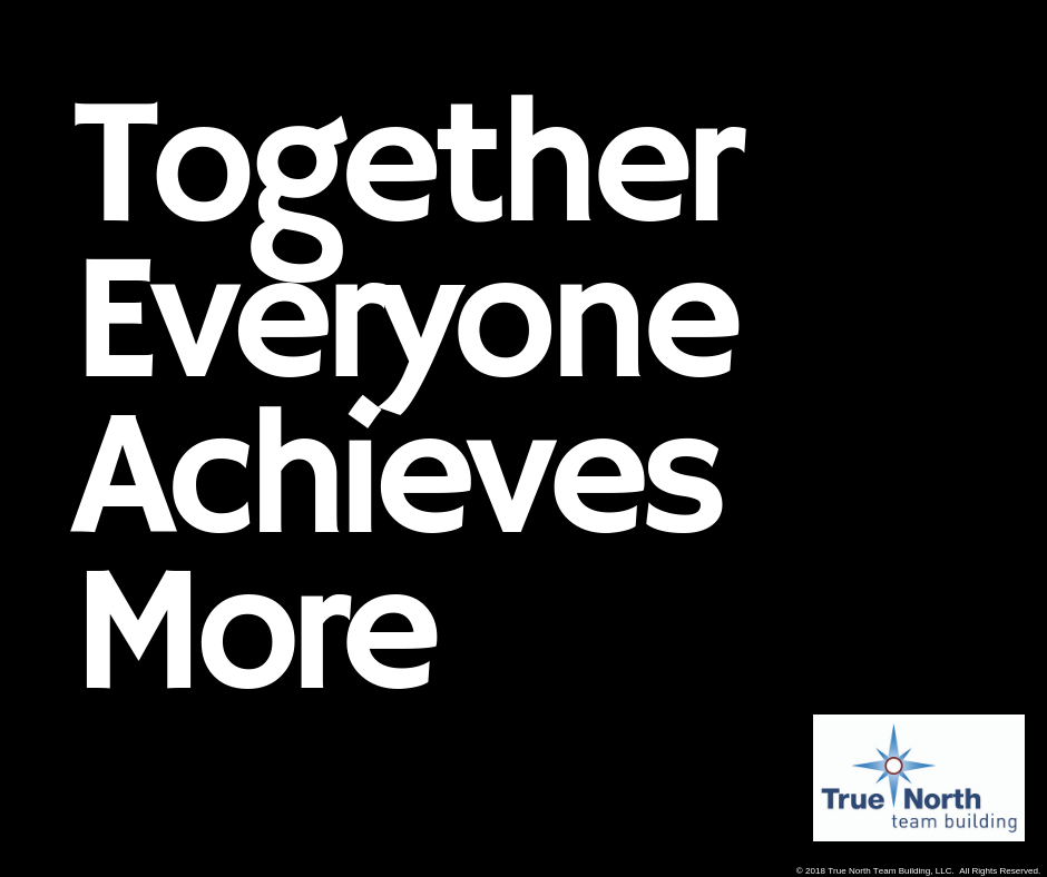 motivation monday- together everyone achieves more